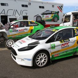 Team RX Racing doubles up for British RX finale with O'Donovan and Bardy