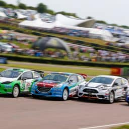 Team RX Racing impresses in home World RX appearance at Lydden Hill