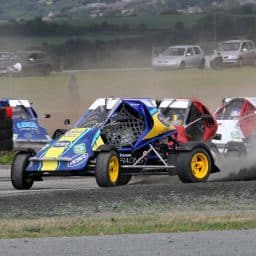 Ward heads RX150 rallycross standings into home event at Mondello