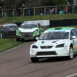 Consistent O'Donovan scores Lydden Hill podium to open British RX account