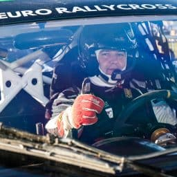 O'Donovan forced to withdraw from British World RX round