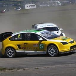 O'Donovan dominates at Pembrey to take British RX championship lead