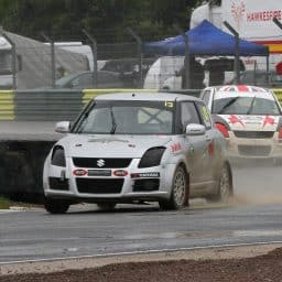Patrick O'Donovan claims first rallycross podium at Croft